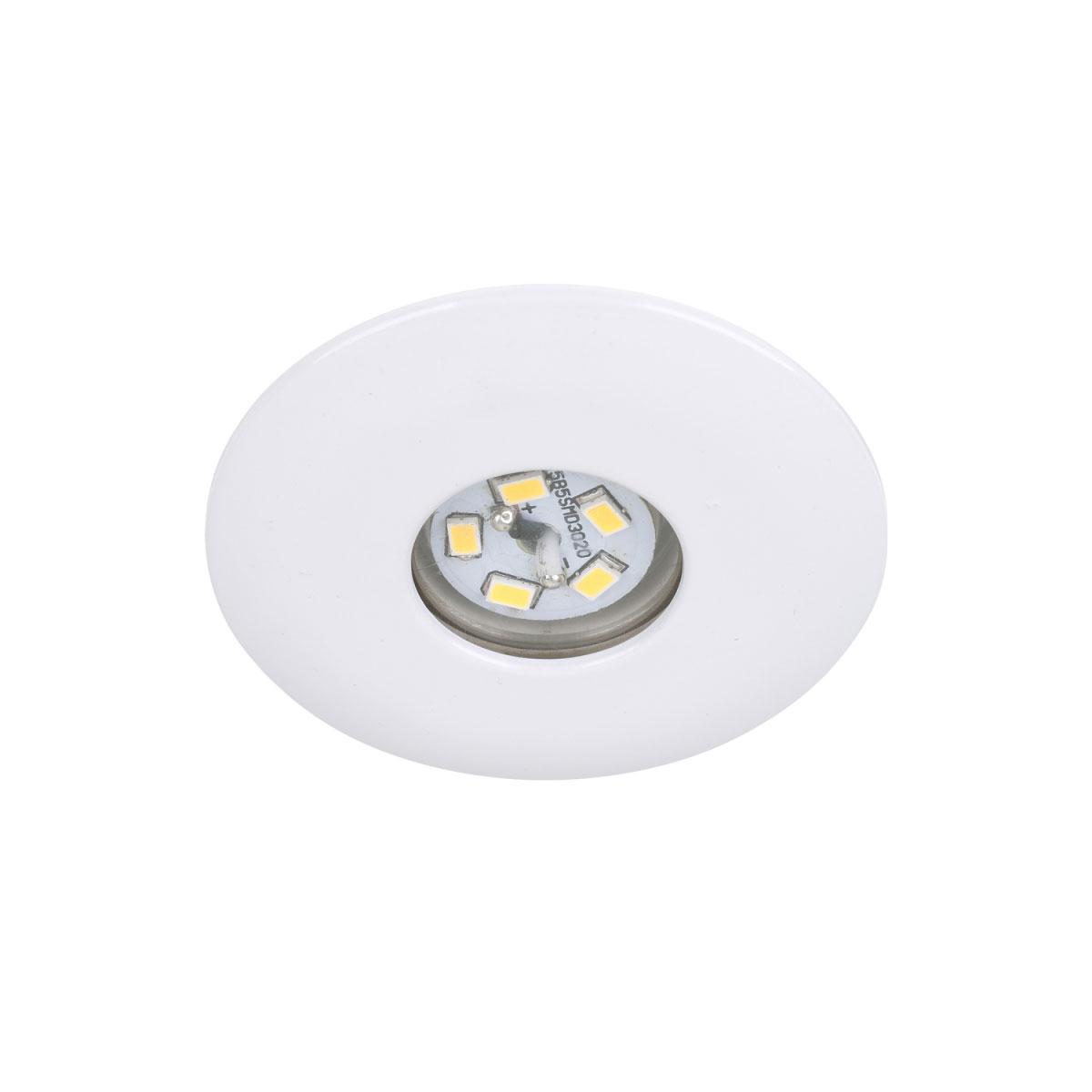 Deckenleuchten - LED Einbauleuchte, weiß, 1,8W  - Onlineshop Hellweg