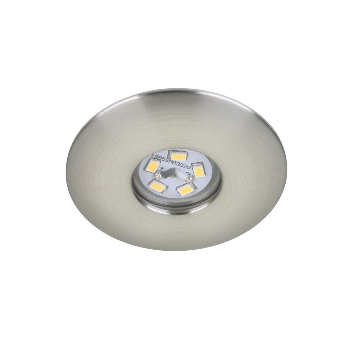 Deckenleuchten - LED Einbauleuchte, matt, 1,8W  - Onlineshop Hellweg