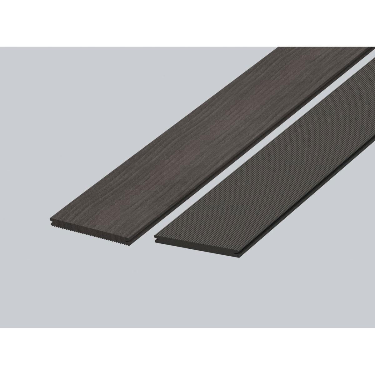 "Rettenmeier Terrassendiele ""Artwood GCC"" grau, 163x16x4000 mm 400x16,3 cm"