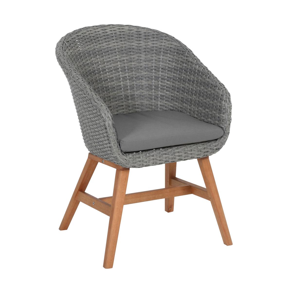 "Gartenstühle - Sessel ""Madeira"", grau  - Onlineshop Hellweg"