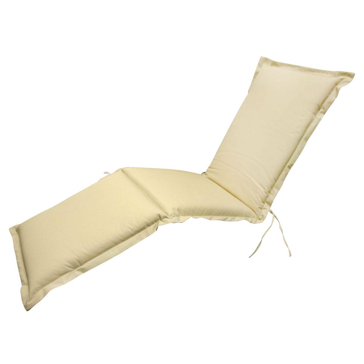 """Truhen und Auflagen - Polsterauflage Deck Chair """"Premium"""", extra dick, Beige  - Onlineshop Hellweg"""