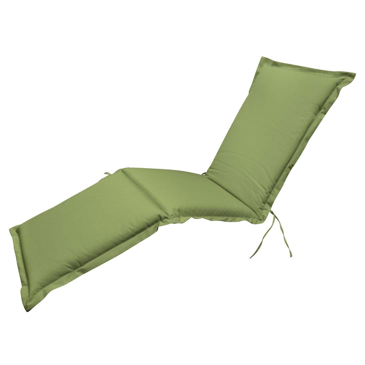 """Truhen und Auflagen - Polsterauflage Deck Chair """"Premium"""", extra dick, Grün  - Onlineshop Hellweg"""