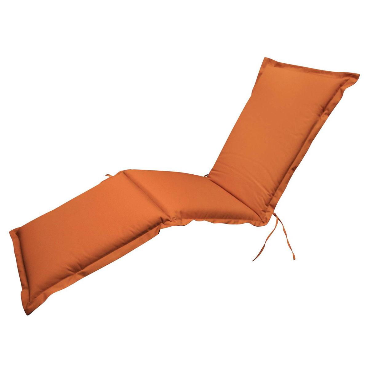"""Truhen und Auflagen - Polsterauflage Deck Chair """"Premium"""", extra dick, Terra  - Onlineshop Hellweg"""