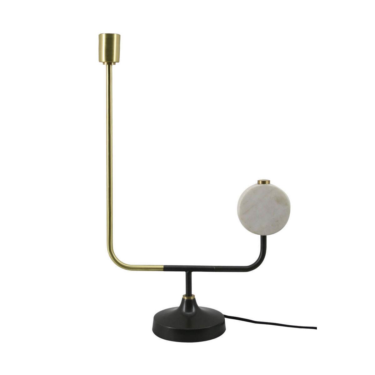 """Tischleuchten - Tischlampe """"Carlissa 287"""", weiß  - Onlineshop Hellweg"""