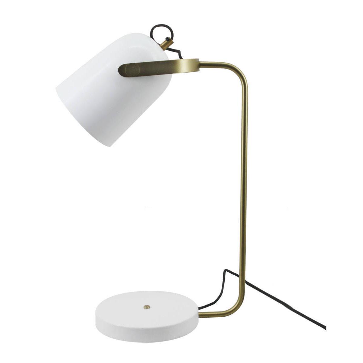 """Tischleuchten - Tischlampe """"Caroline 287"""", weiß  - Onlineshop Hellweg"""