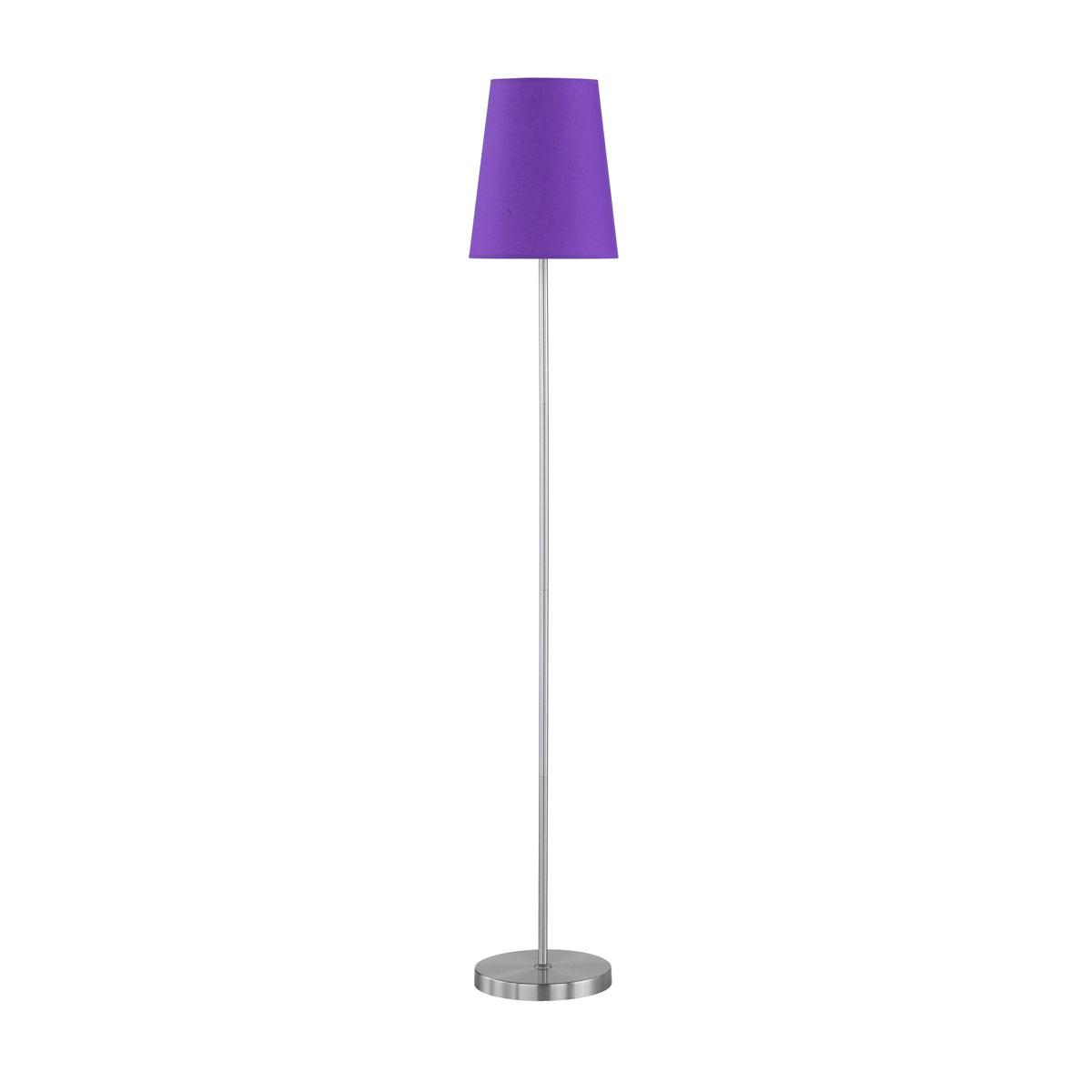 """Stehleuchten - Standleuchte """"Fynn"""", violett  - Onlineshop Hellweg"""
