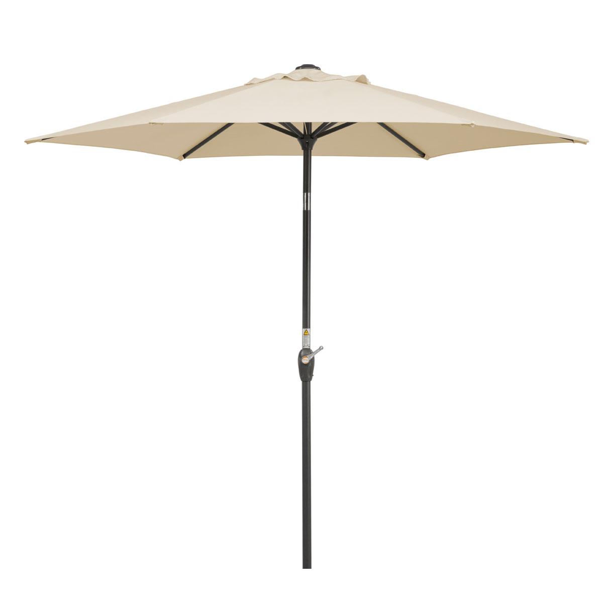 """Sonnenschirme und Sonnensegel - Schirm """"Bilbao 220 6"""", natur  - Onlineshop Hellweg"""