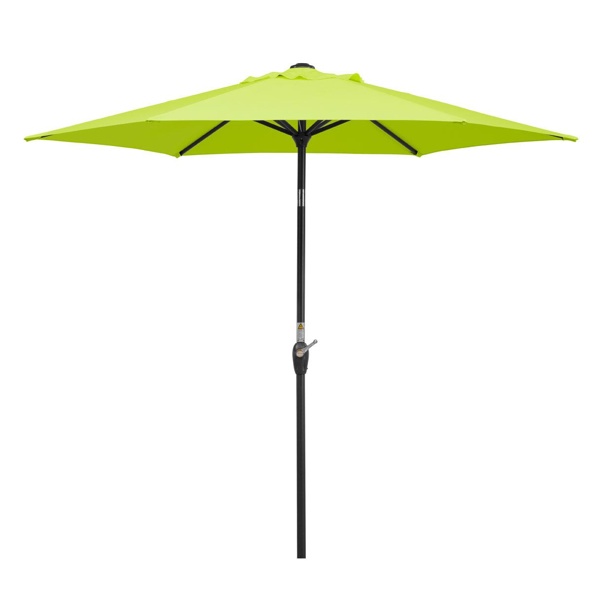 """Sonnenschirme und Sonnensegel - Schirm """"Bilbao 220 6"""", apfelgrün  - Onlineshop Hellweg"""