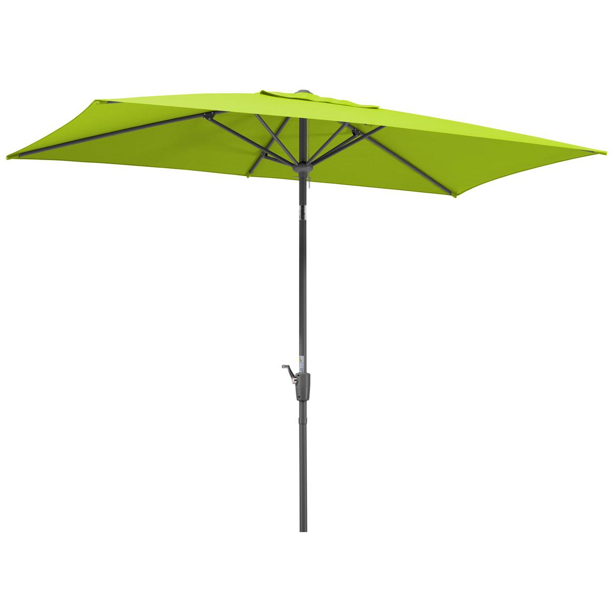 """Sonnenschirme und Sonnensegel - Schirm """"Tunis"""", 270x150 6, apfelgrün  - Onlineshop Hellweg"""