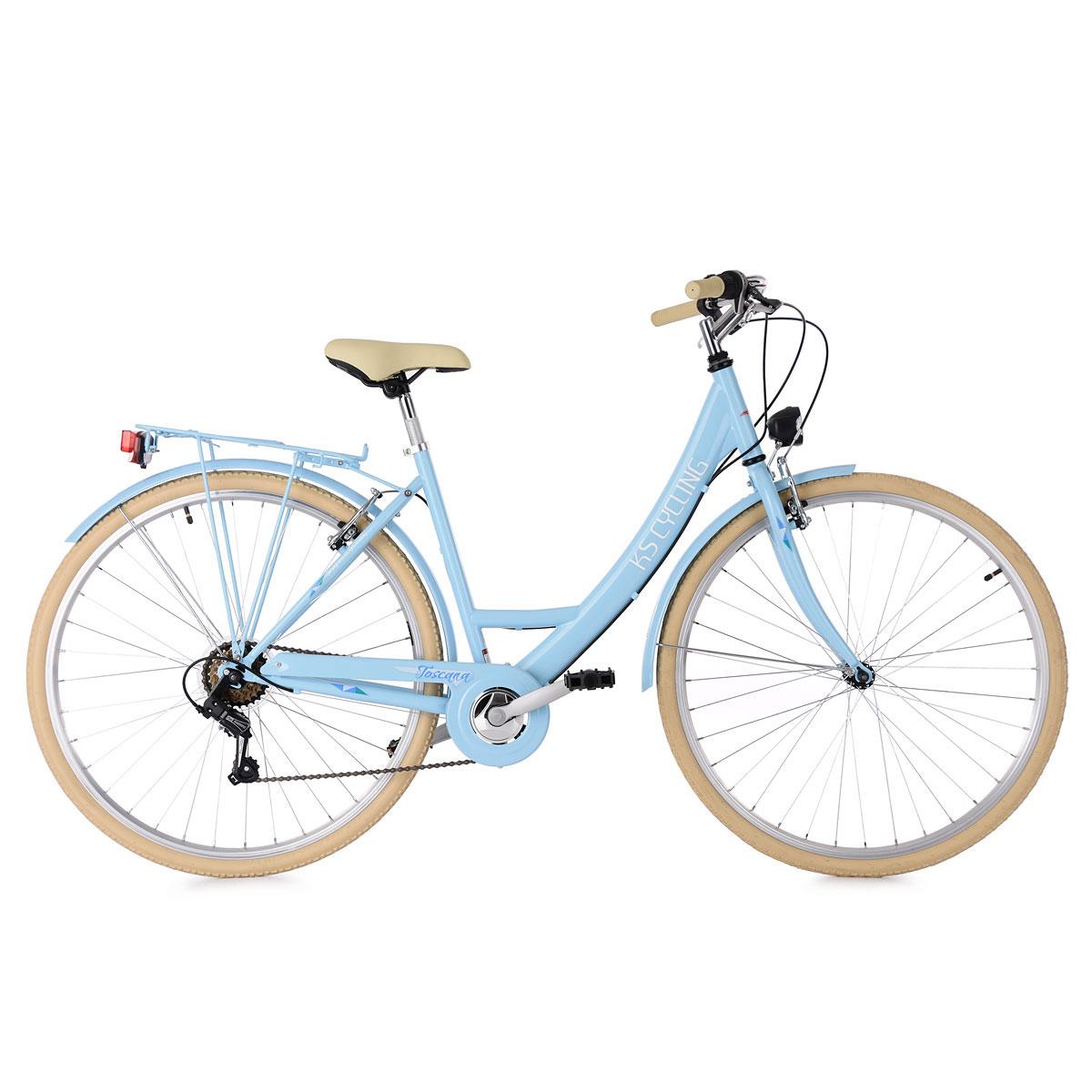 "KS Cycling Cityrad ""Toscana"", ohne Korb, 28 Zoll, blau"