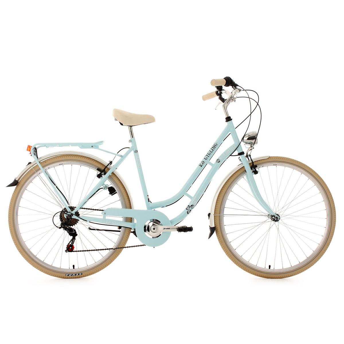 "KS Cycling Cityrad ""Casino"", 6-Gänge, 53 cm, hellblau 6   hellblau   53 cm"