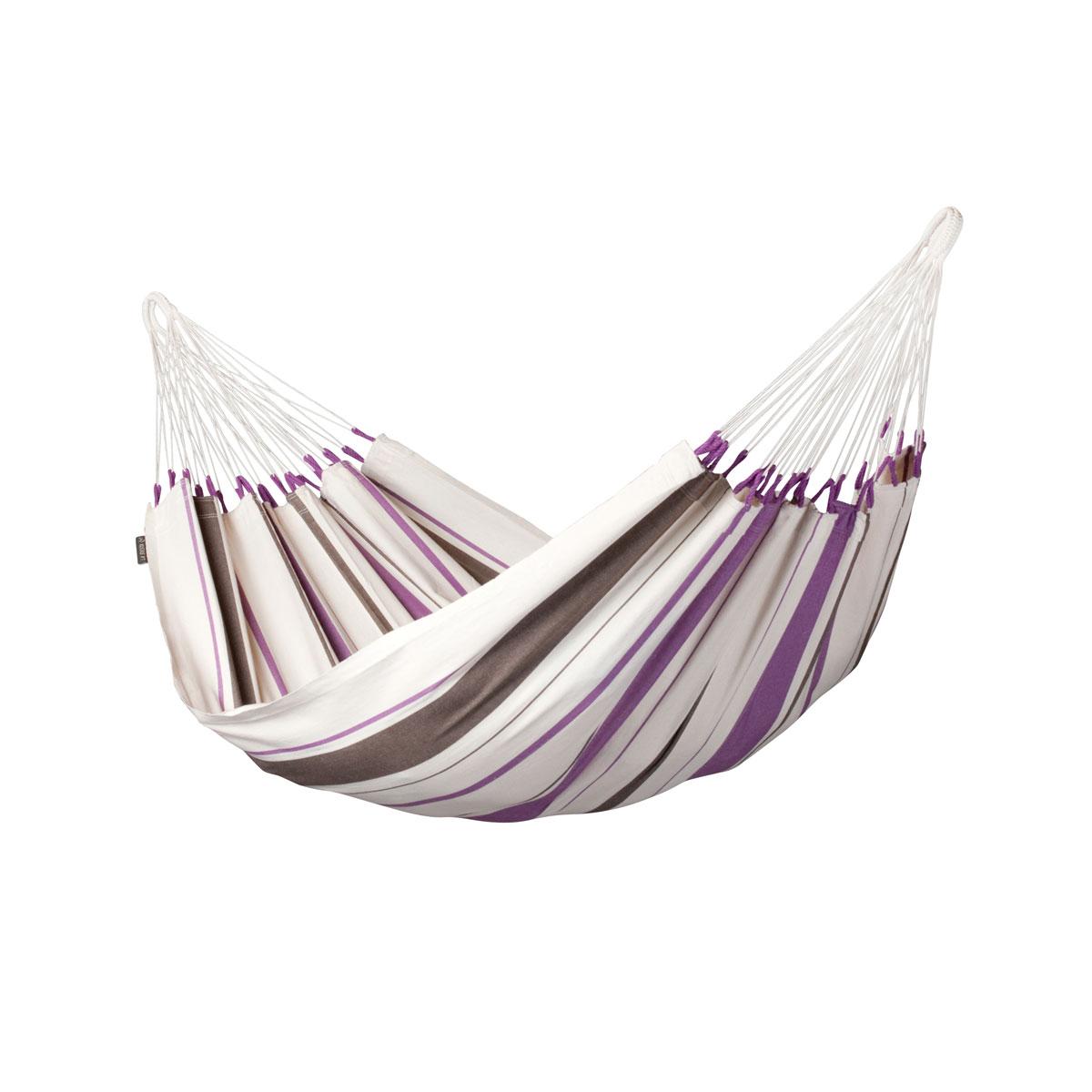 """Einzel-Hängematte """"Caribeña"""", Baumwolle, Purple"""