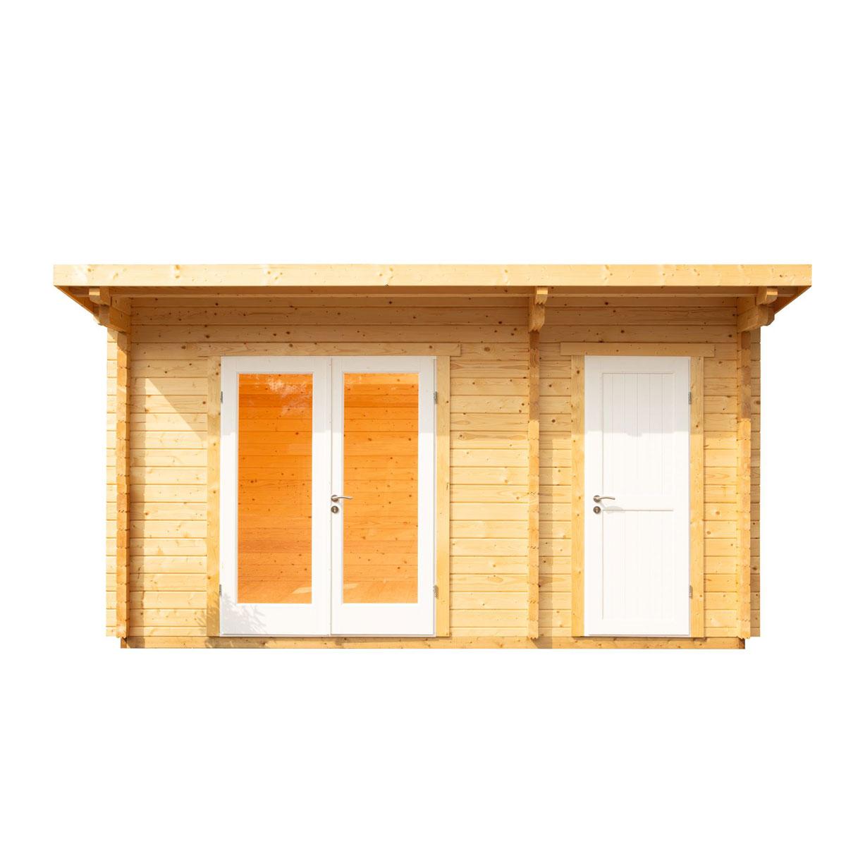 """Gartenhäuser - Gartenhaus """"Trondheim 44 D XL"""", 2 Raum  - Onlineshop Hellweg"""
