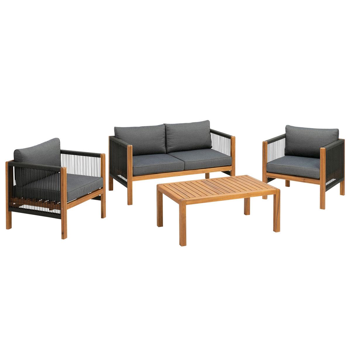 Loungemöbel - Kaffee Set  - Onlineshop Hellweg