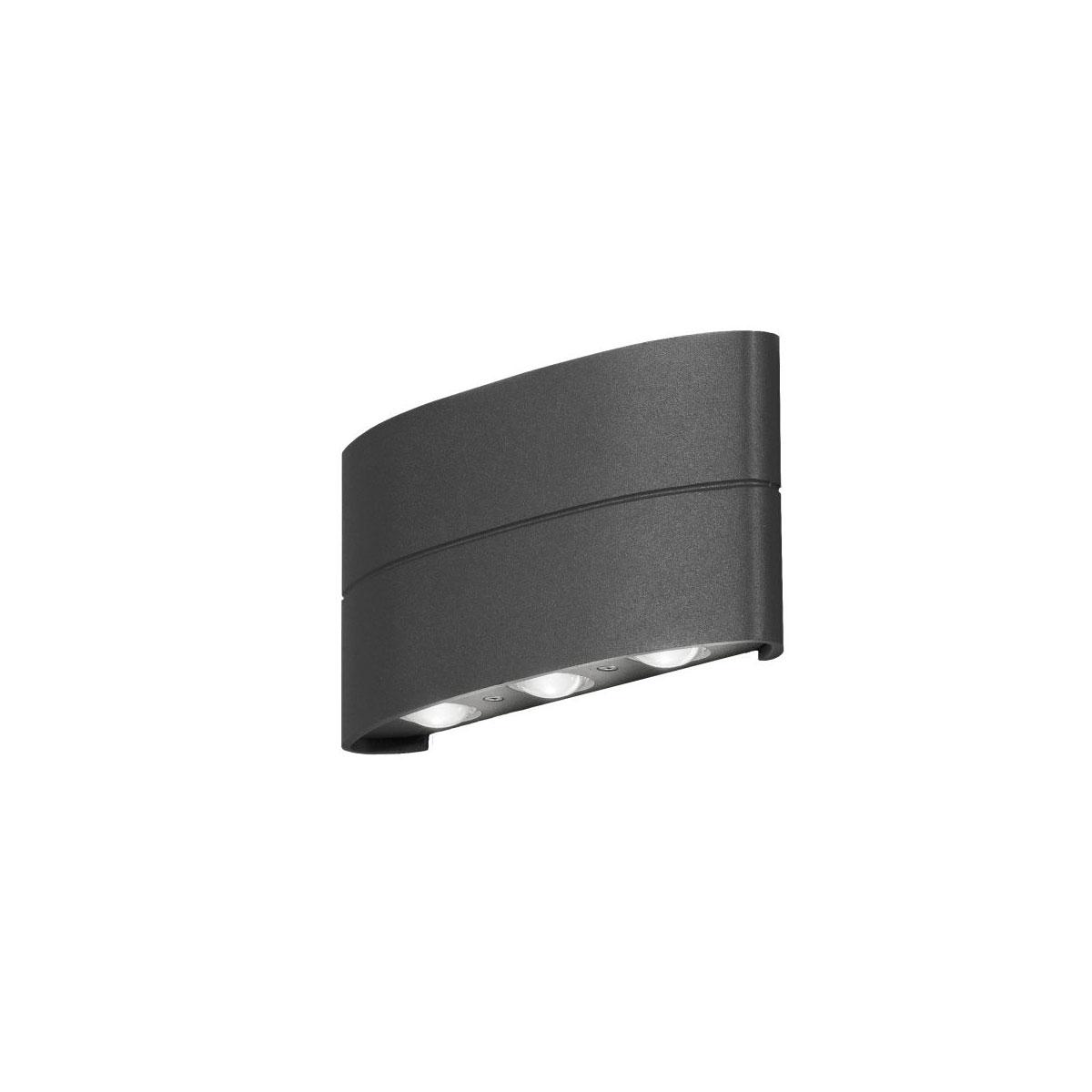 """Außenwandleuchten - LED Außenwandleuchte """"Chieri"""", schwarz  - Onlineshop Hellweg"""