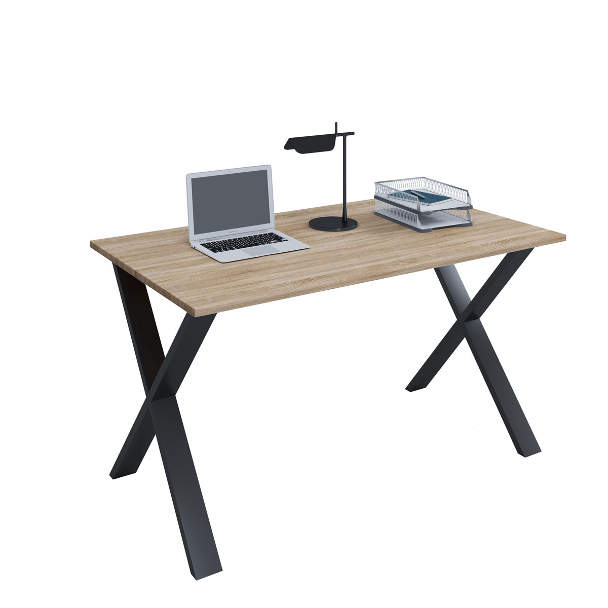 Schreibtisch Nussbaum Schwarz 2021