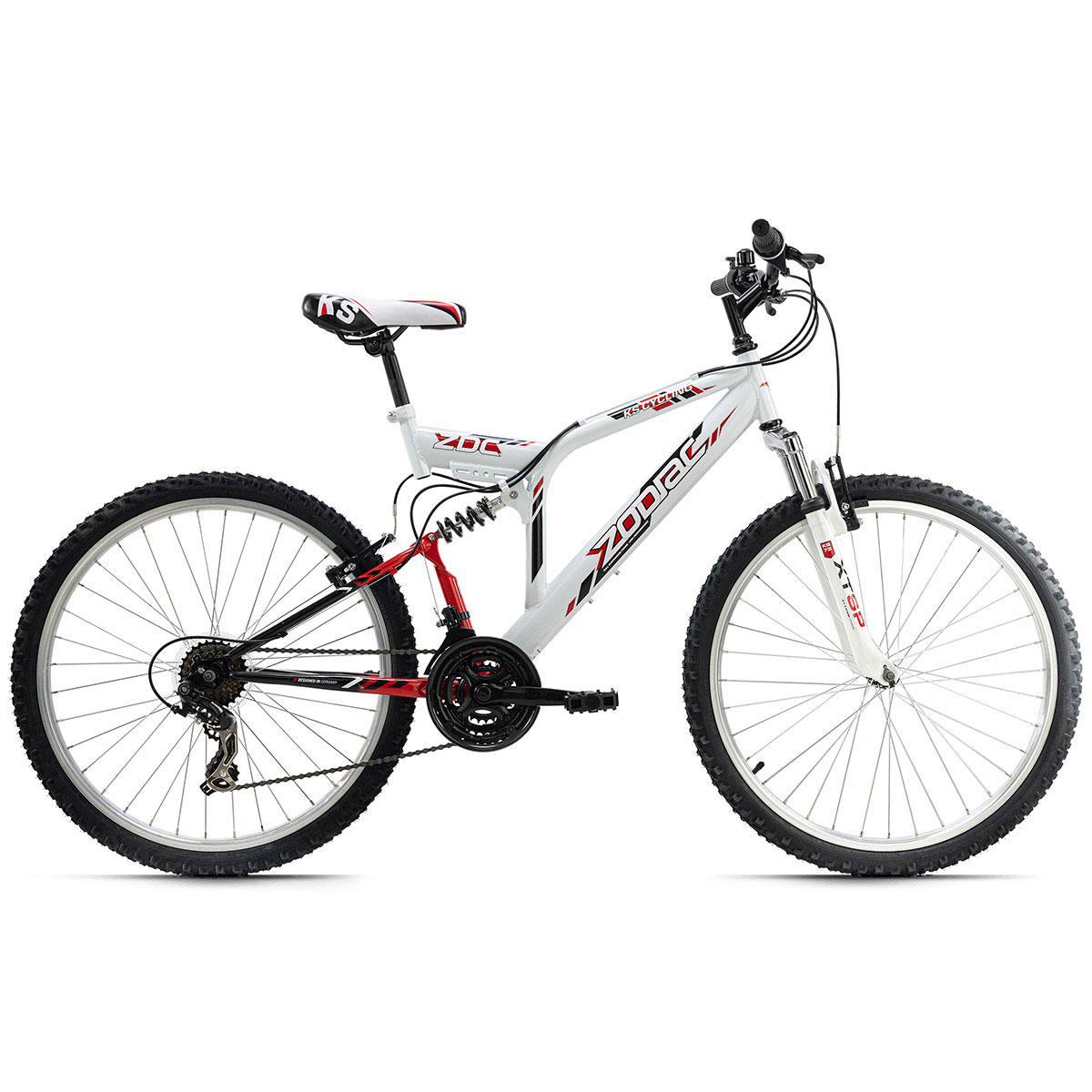 """Mountainbike """"Zodiac"""", Fully, weiß weiß"""