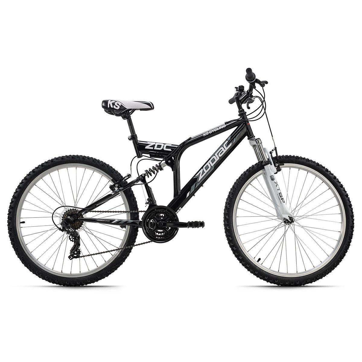"""Mountainbike """"Zodiac"""", Fully, schwarz schwarz"""