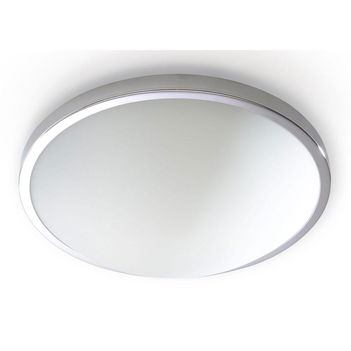 """Deckenleuchten - Deckenleuchte """"Solar"""", 31x31x9cm, silber 1  - Onlineshop Hellweg"""
