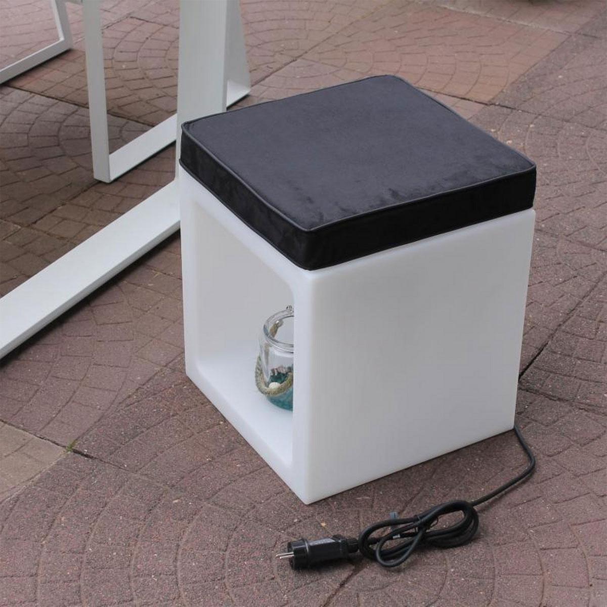 Gartenstühle - Offener Würfel mit Sitzkissen  - Onlineshop Hellweg