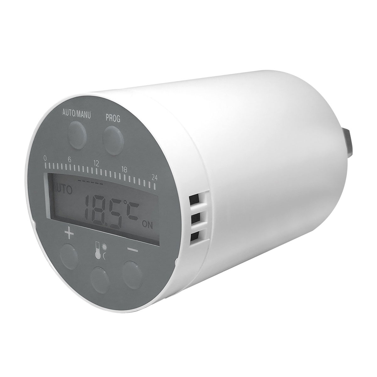 "Fontastic WiFi intelligentes Heizkörperthermostat ""Smart Home"", mit LCD-Display"